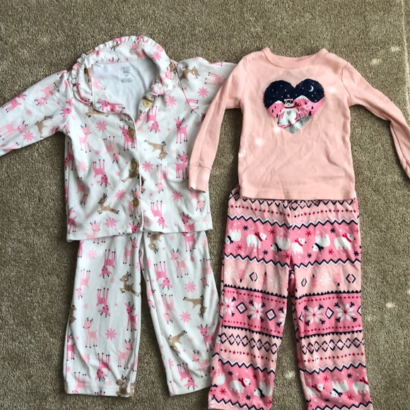 2T Winter Pajama set